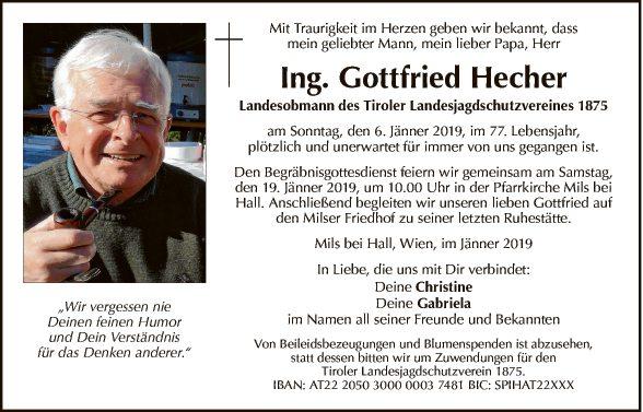 Gottfried Hecher
