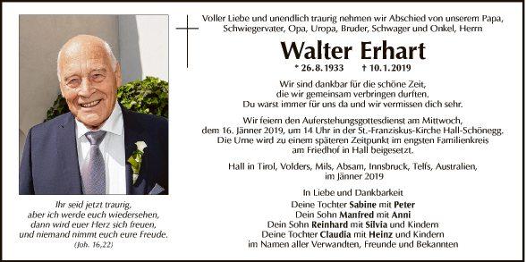 Walter Erhart