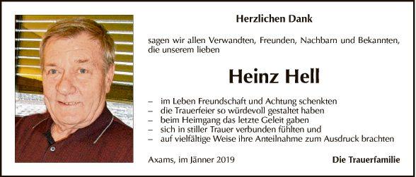 Heinz Hell
