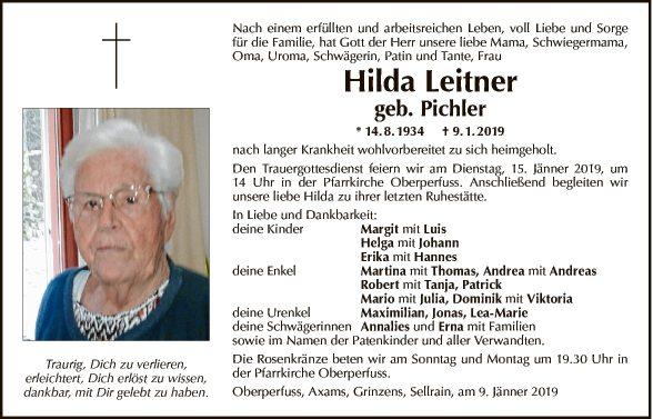Hilda Leitner