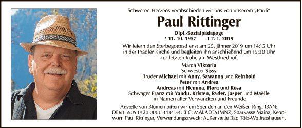 Paul von Rittinger
