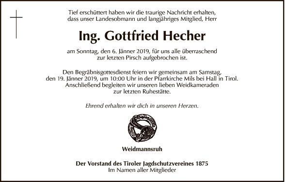 Ing. Gottfried Hecher