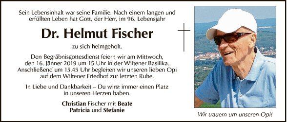 Dr. Helmut Fischer