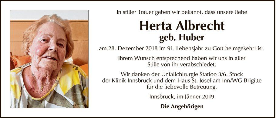 Herta Albrecht