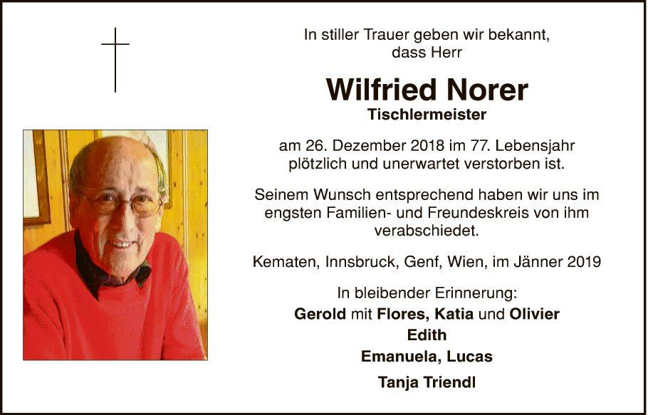 Wilfried Norer