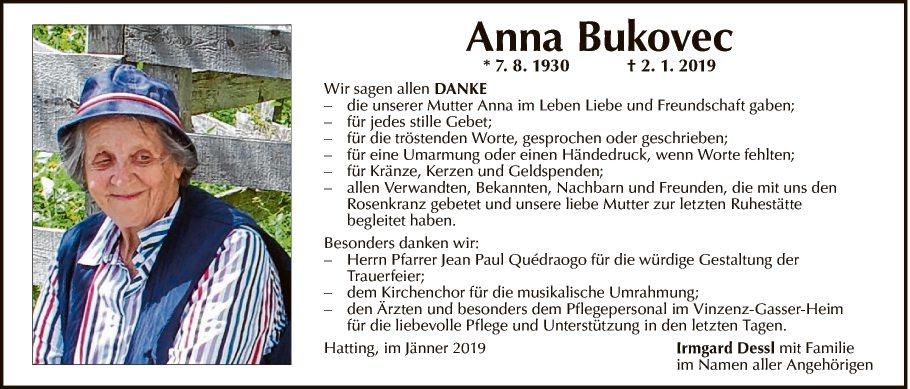 Anna Bukovec