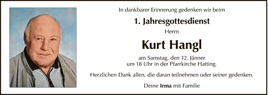 Kurt Hangl