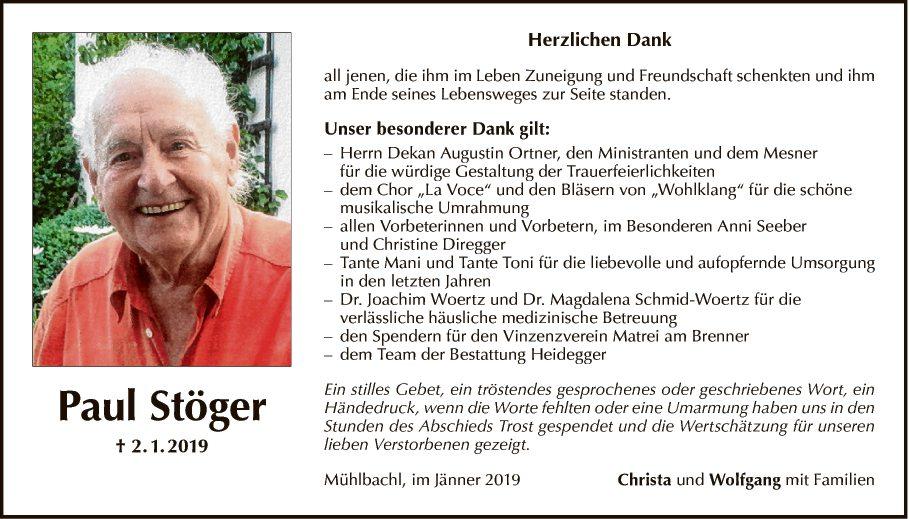 Paul Stöger