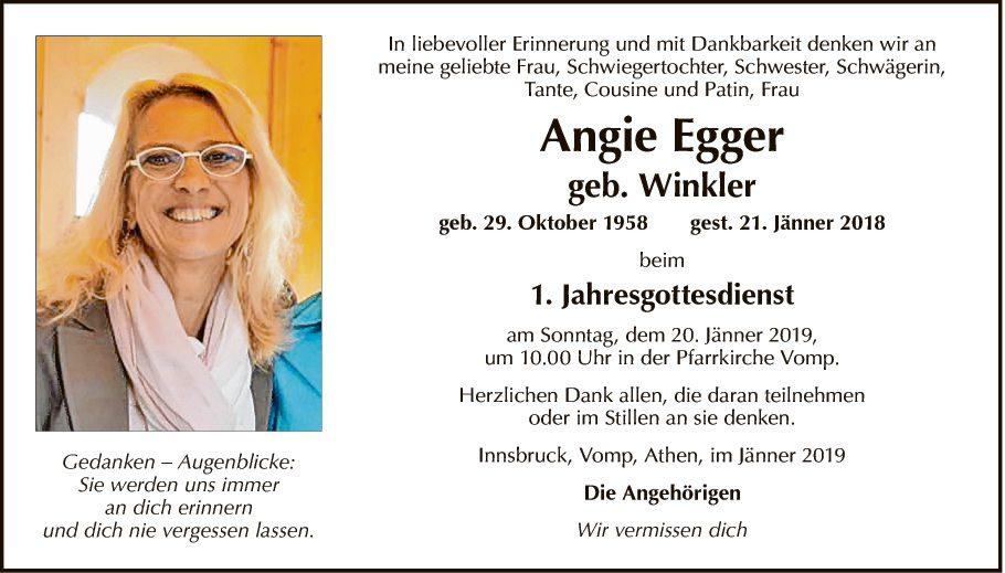 Angela Egger