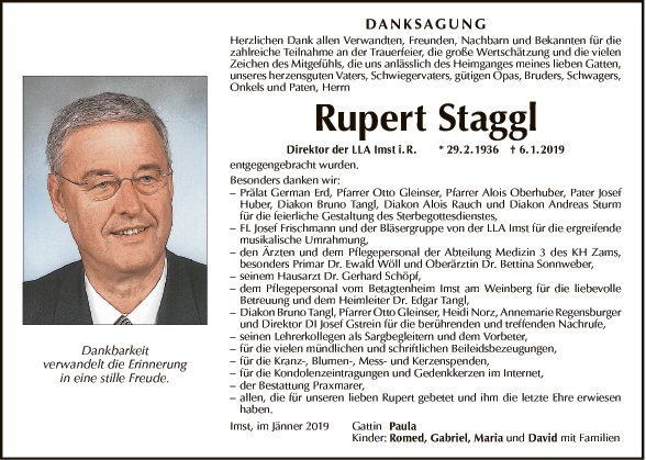 Rupert Staggl