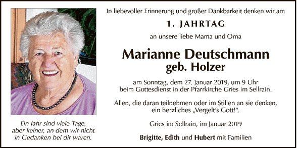 Marianne Deutschmann