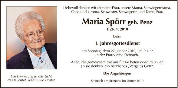 Maria Spörr