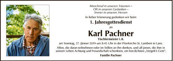 Karl Pachner