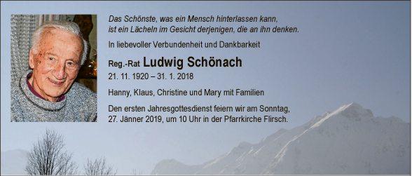 Ludwig Schönach