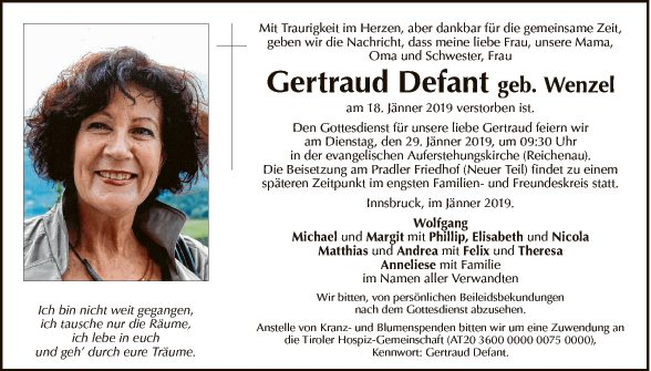 Gertraud Defant