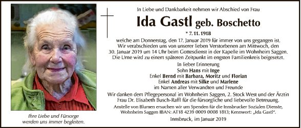 Ida Gastl
