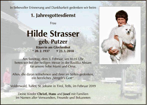 Hilde Strasser