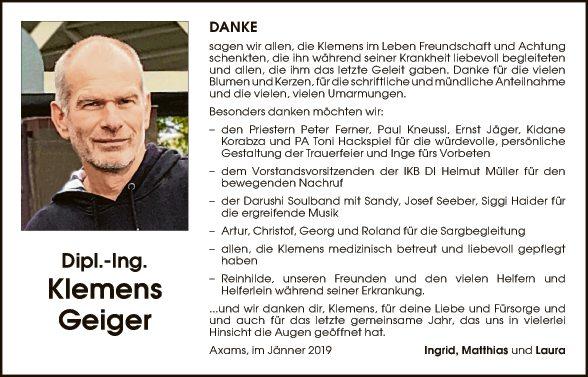 Klemens Geiger