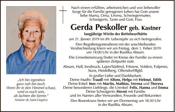 Gerda Peskoller