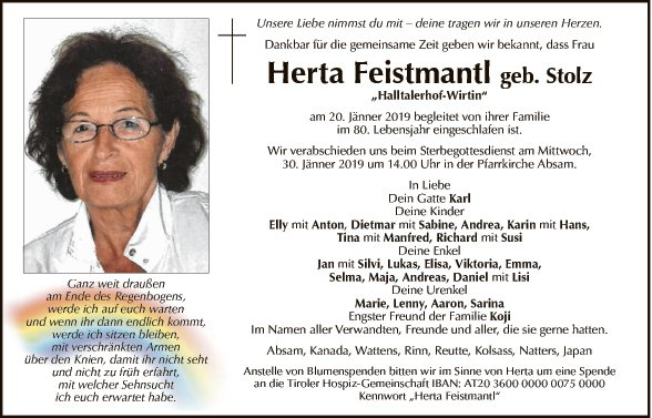 Herta Feistmantl
