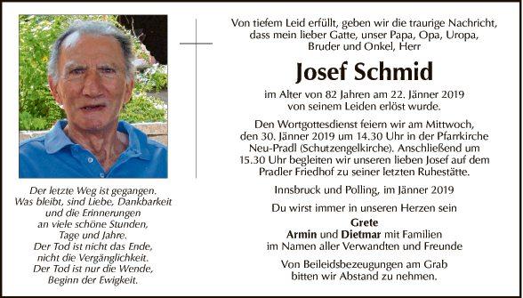 Josef Schmid