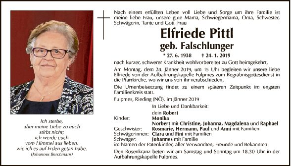 Elfriede Pittl