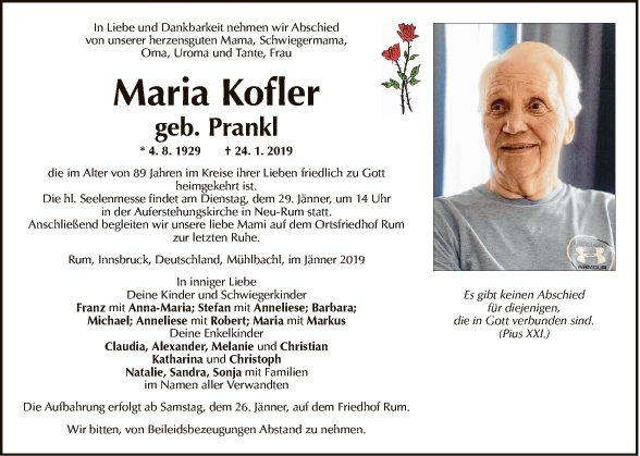 Maria Kofler
