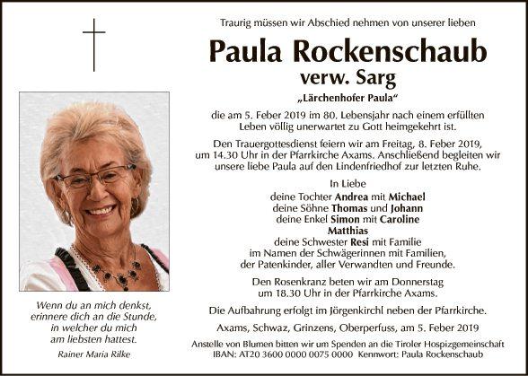 Paula Rockenschaub