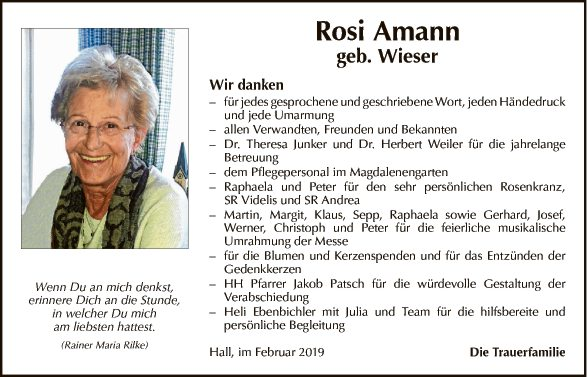 Rosi Amann