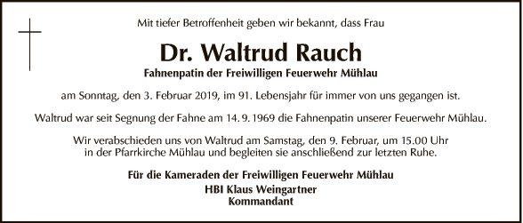 Waltrud Rauch