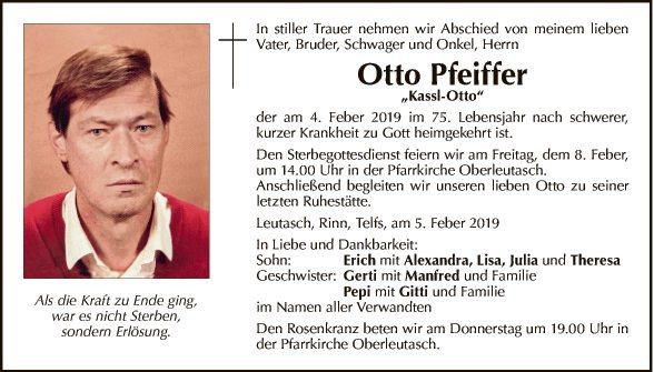 Otto Pfeifer