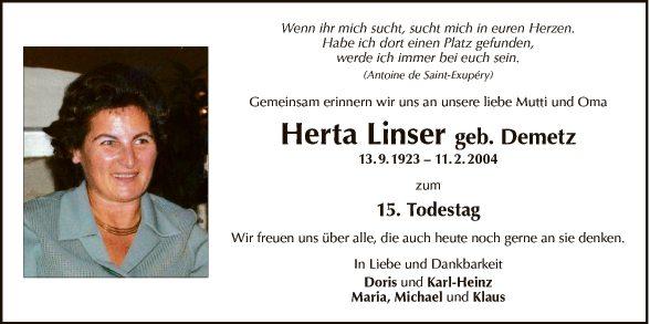 Herta Linser