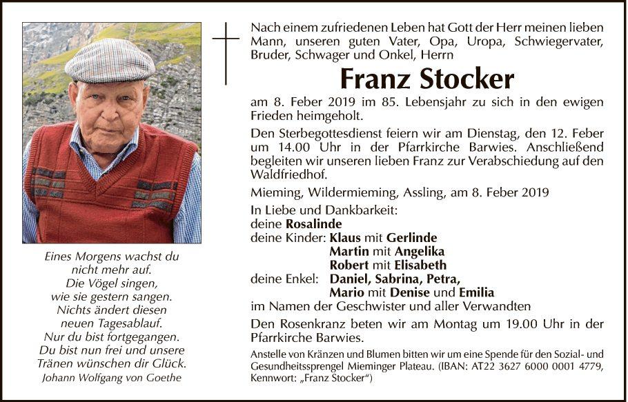 Franz Stocker