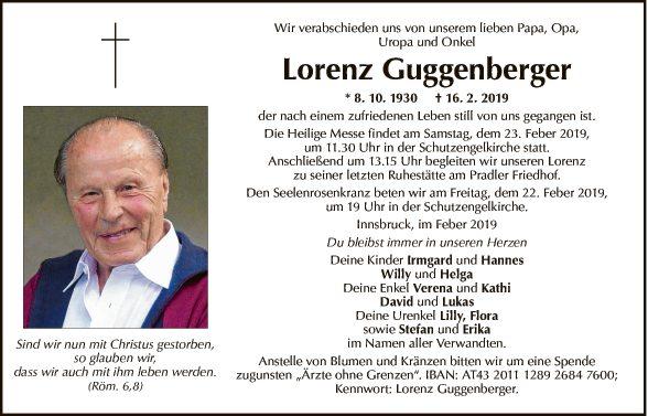 Lorenz Guggenberger