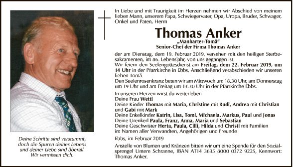 Thomas Anker