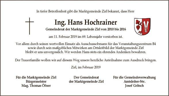 Hans Hochrainer