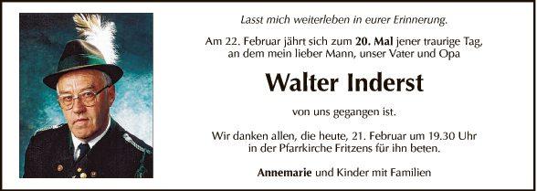 Walter Inderst