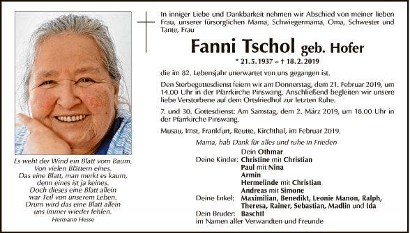 Fanni Tschol