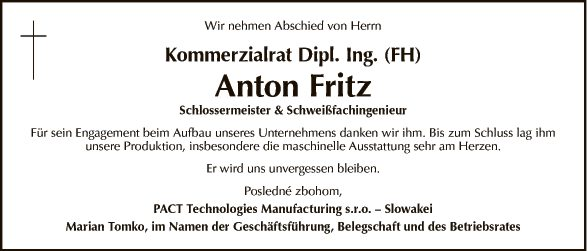 KR Dipl. Ing. (FH) Anton Fritz