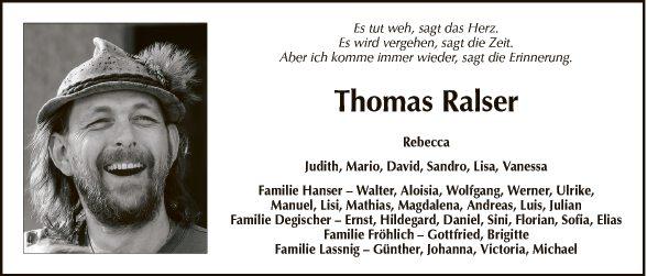 Thomas Ralser