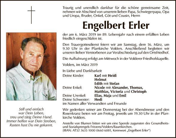 Engelbert Erler
