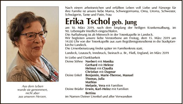 Erika Tschol
