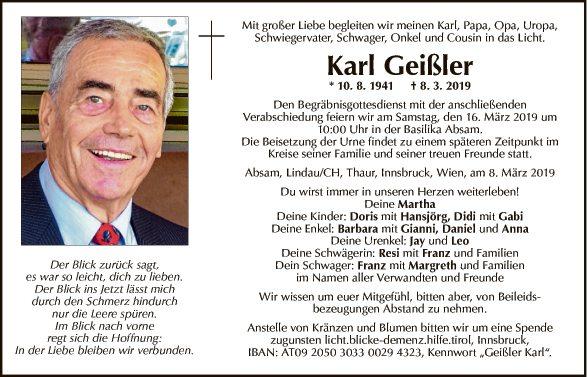 Karl Geißler