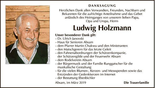 Ludwig Holzmann