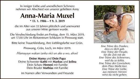 Anna-Maria Muxel