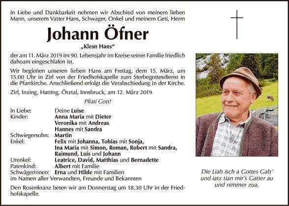 Johann Öfner
