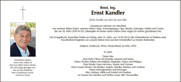 Ernst Kandler