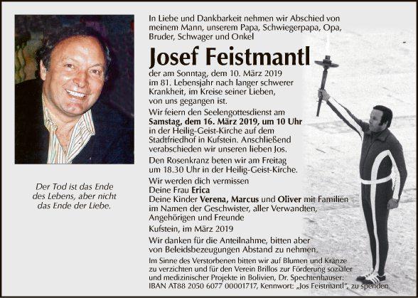 Josef Feistmantl Bild