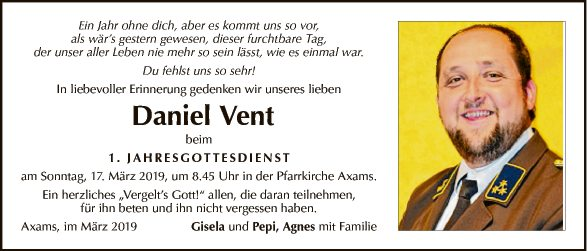 Daniel Vent