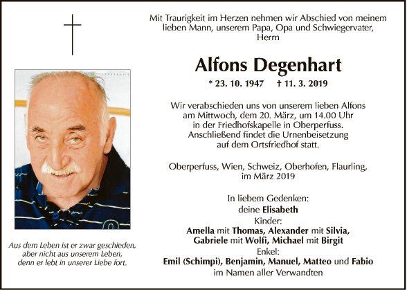 Alfons Degenhart